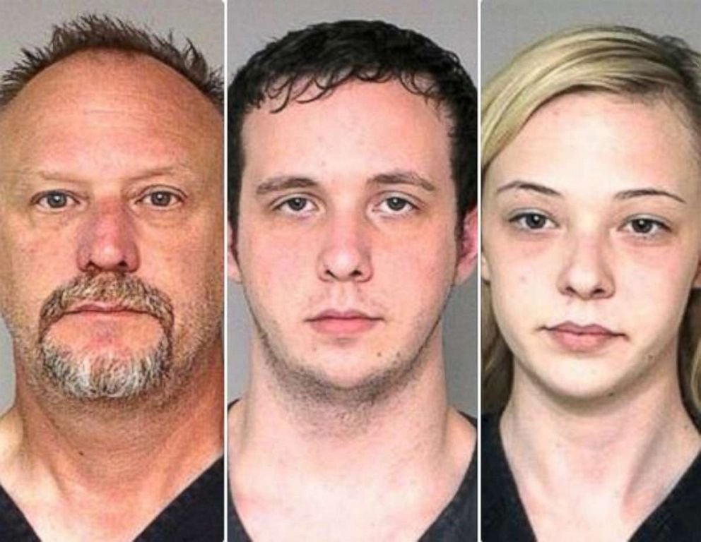 PHOTO: The Catt family robbed two banks and stole an estimated $100,000 in total.