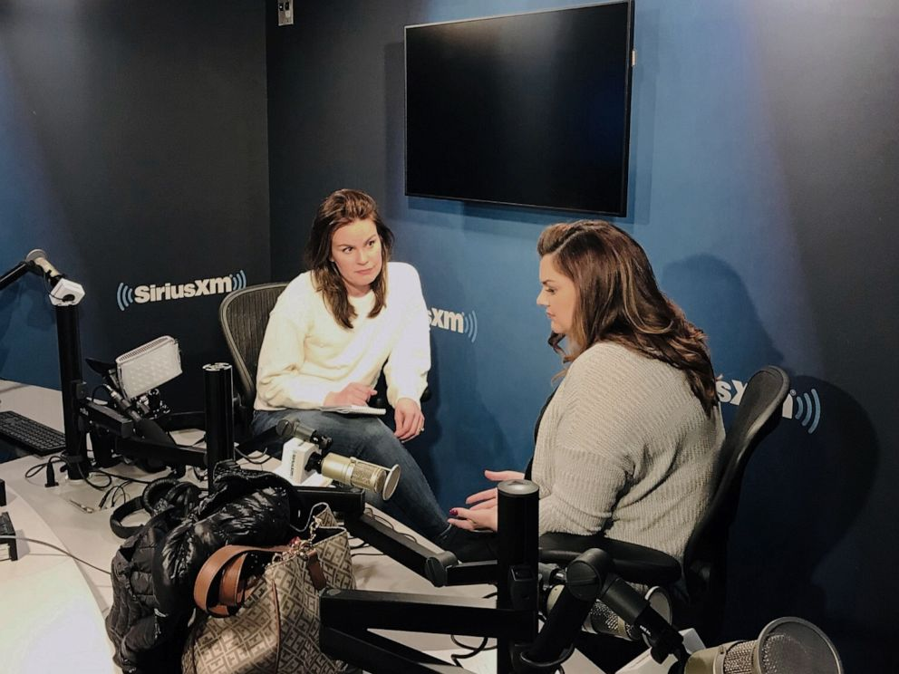PHOTO: Abby Johnson, whose life is the subject of a new film called Unplanned, speaks with ABC News Lauren Cavalea in New York.