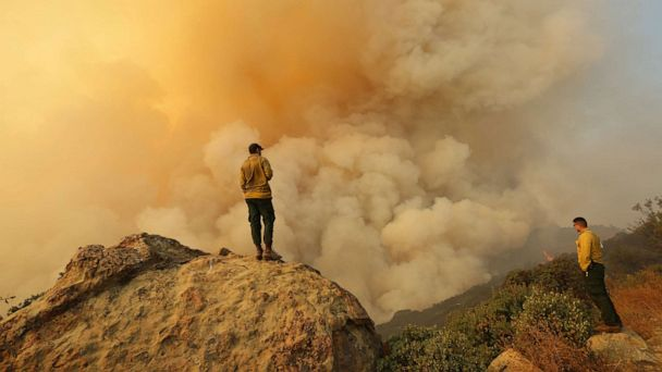 Cave Fire 20% contained as rain soaks Santa Barbara, evacuees expected home for Thanksgiving