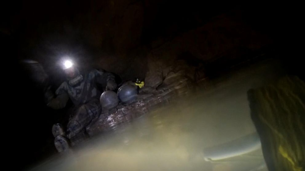 Exclusive video goes inside daring underwater cave rescue of British diver in Tennessee
