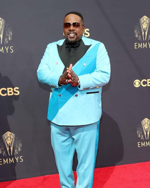 Emmys 2021 red carpet: Colorful tuxedos take over - ABC News