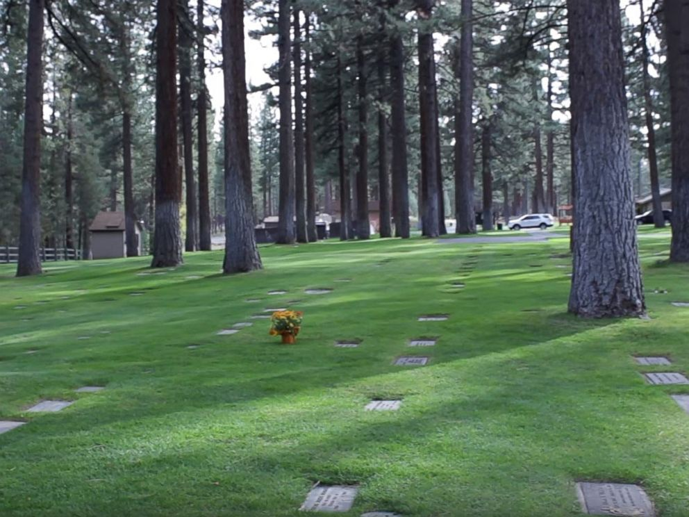 PHOTO: The cemetery where murder victim Carol Andersen is buried. Andersons body was found in South Lake Tahoe in 1979.
