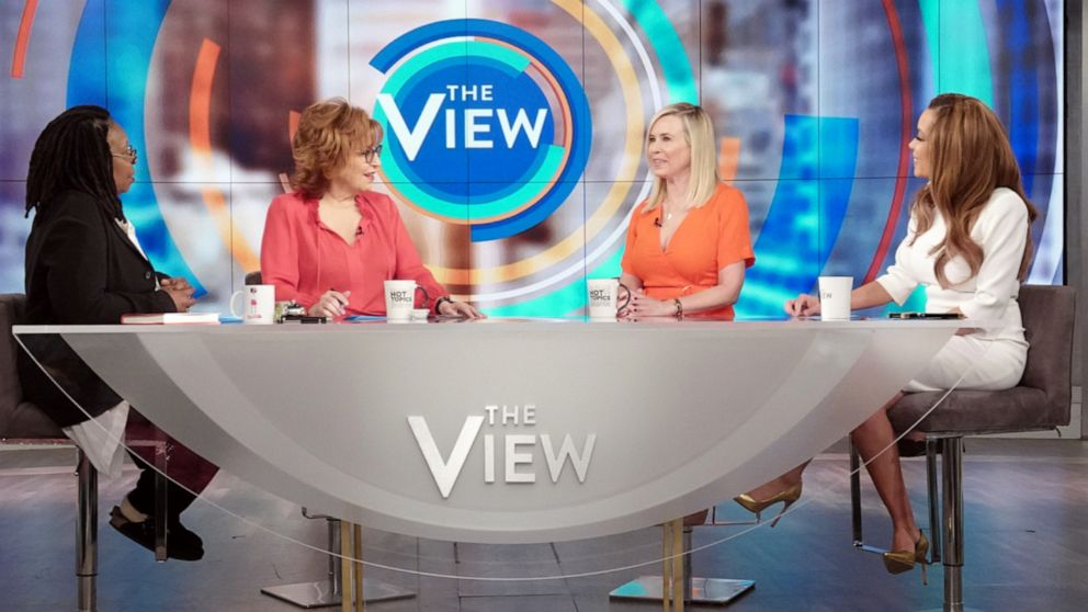 "Comedian Chelsea Handler opens up about what she learned in therapy on ""The View"" with co-hosts Whoopi Goldberg, Joy Behar, and Sunny Hostin on Tuesday, April 9, 2019."