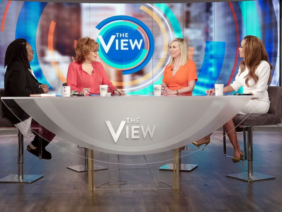 PHOTO: Comedian Chelsea Handler opens up about what she learned in therapy on The View with co-hosts Whoopi Goldberg, Joy Behar, and Sunny Hostin on Tuesday, April 9, 2019.