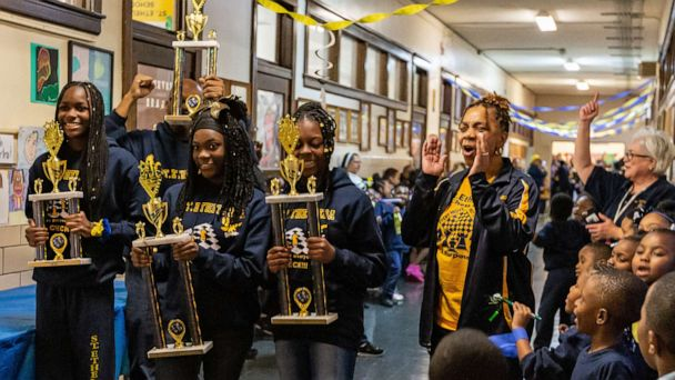 School crowns all-girls Chicago chess team at pep rally after big win at state championship