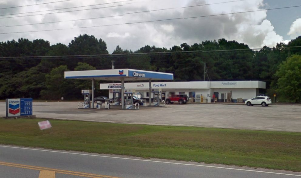 PHOTO: A Chevron gas station in Fayetteville, Ga., is pictured in a Google Street View image from July 2016.