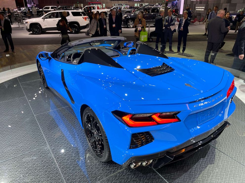 2020 Los Angeles Auto Show.Manufacturers Pushing Latest Developments In Electric Cars