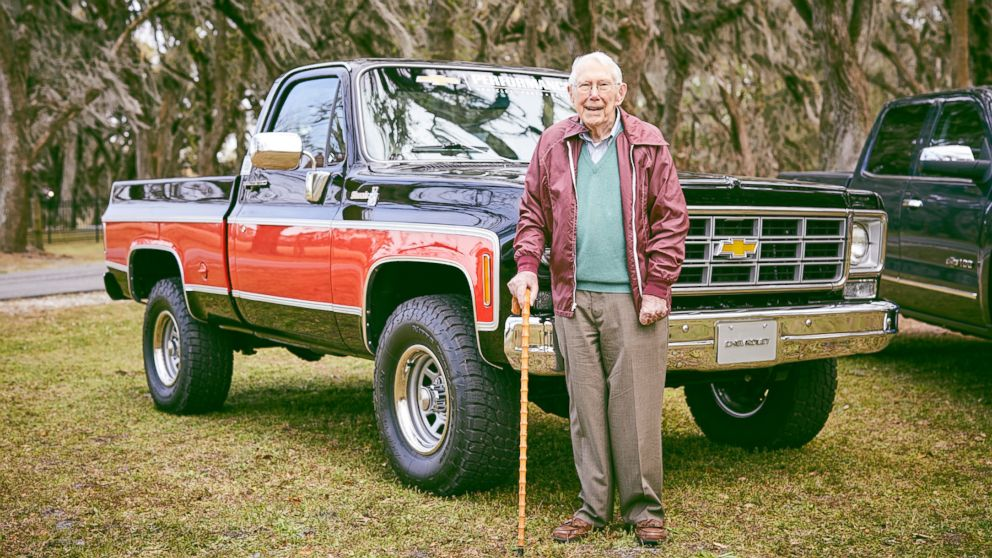 Old Chevy Trucks >> Former Chevy Engineer And Chevy Trucks Celebrate Centennial