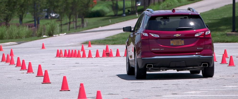 PHOTO: Chevrolets drowsy driving test track.