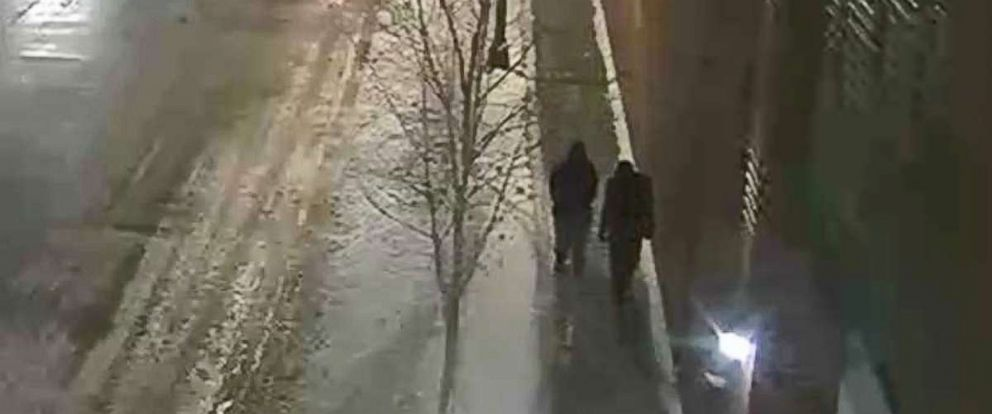 PHOTO: Chicago police are looking to identify and interview the two people pictured, who were walking in the area where Jussie Smollett said he was attacked.