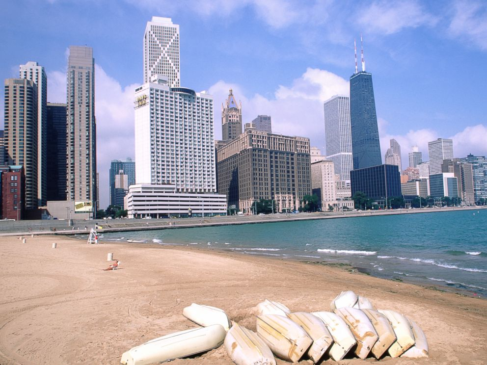 Photo Michigan Lake Beach Is Pictured In Chicago This Undated