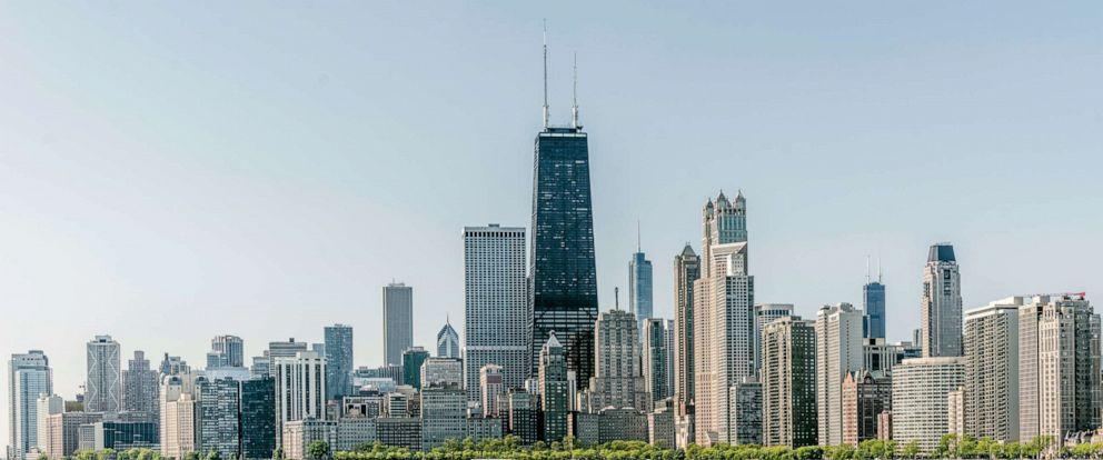 PHOTO: Chicago skyline.
