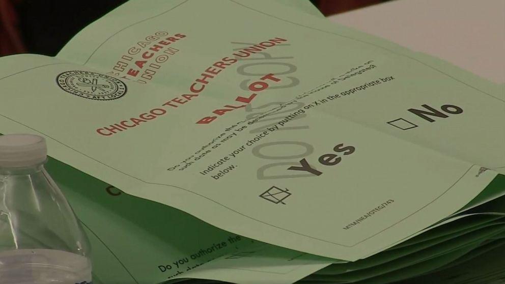 Chicago öffentliche Schule Lehrer Stimmen für Streik, wenn Angebot nicht erreicht werden kann