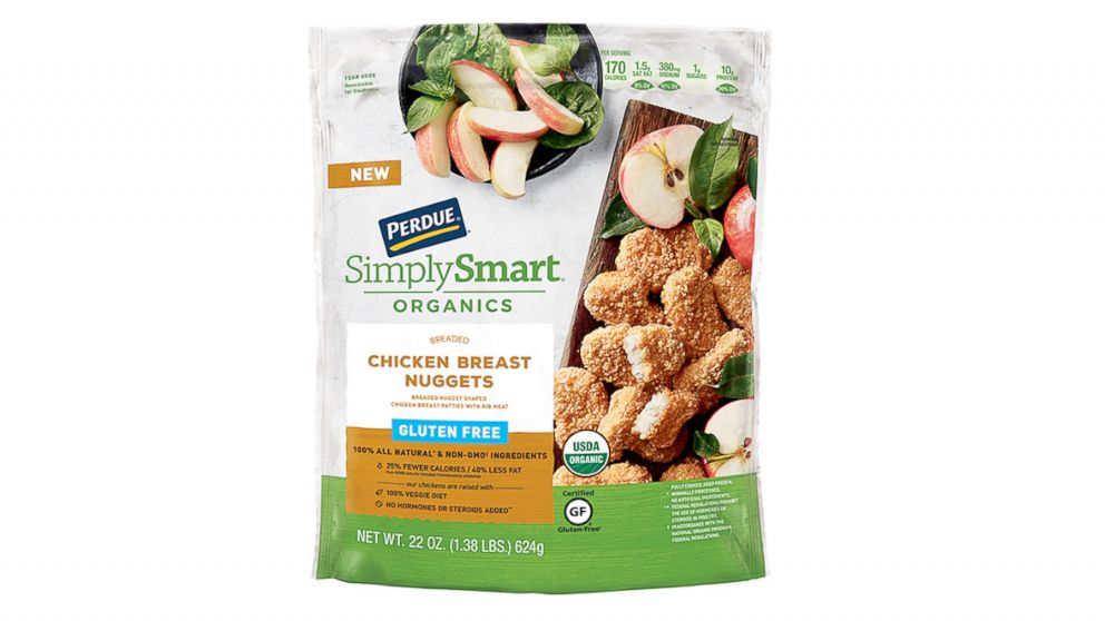 Perdue Simply Smart Organics Gluten Free Chicken Nuggets are part of a recall by the manufacturer.