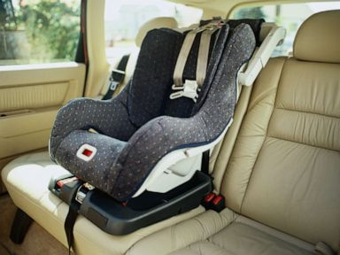 PHOTO: A childs car seat is pictured in an undated stock photo.