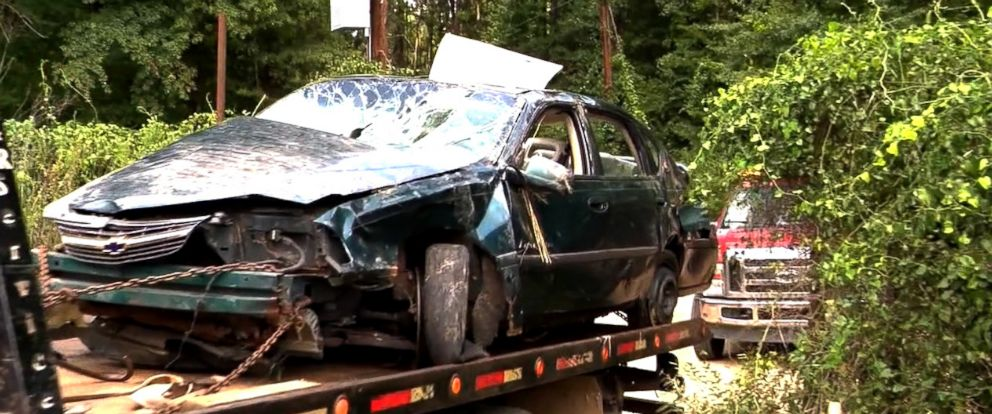 PHOTO: Two toddlers were found and rescued from the site of a car crash in Arkansas, Aug. 20, 2018, in which their mother was killed.