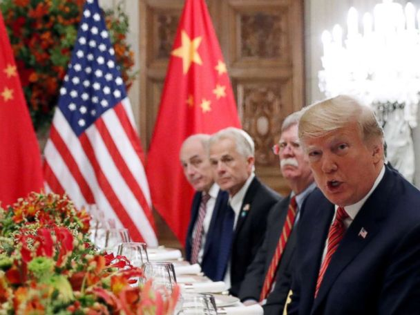 High-stakes trade talks with China underway at White House