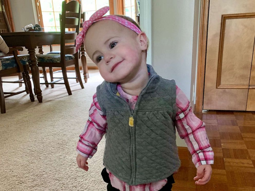 PHOTO: Chloe Wiegand, 18 months, from South Bend, Ind., is pictured in an undated family photo.