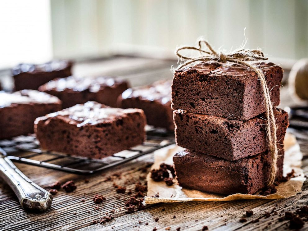 PHOTO: Chocolate brownies are seen in this stock photo.