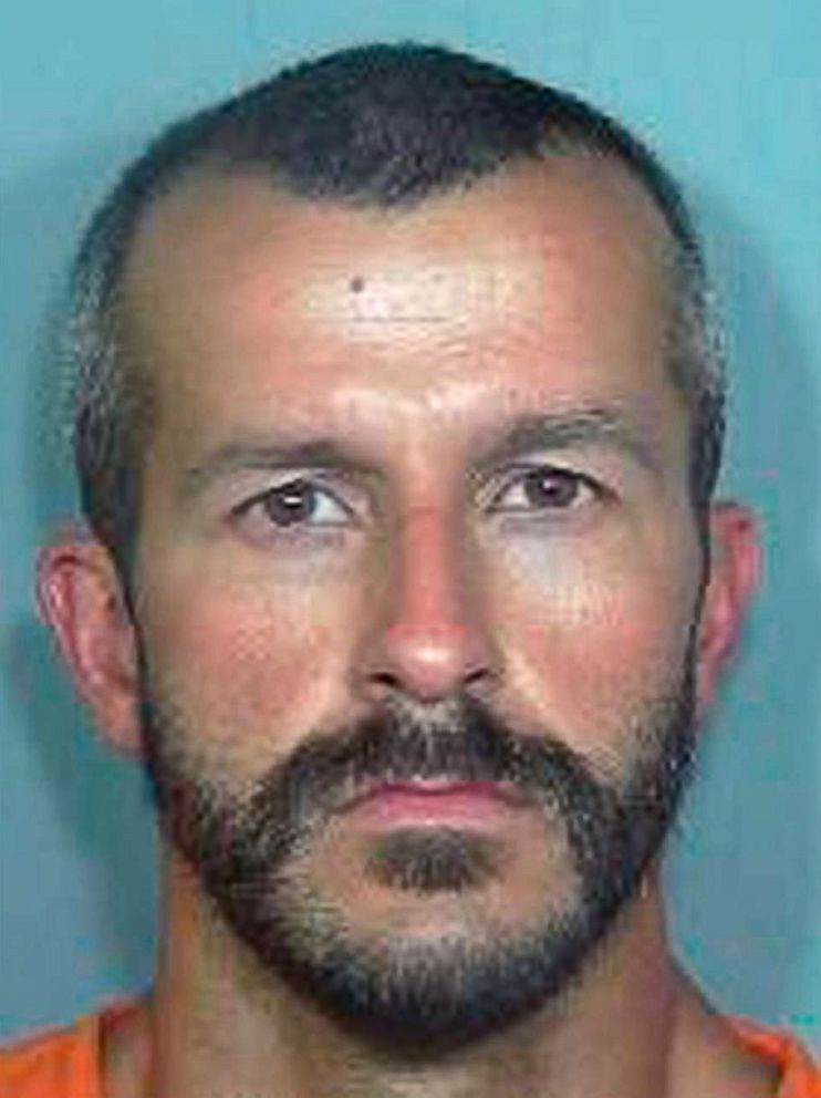 PHOTO: Christopher Watts is accused of killing his wife and two daughters in Colorado. Watts pregnant wife, 34-year-old Shanann Watts, and their two daughters, 4-year-old Bella and 3-year-old Celeste were reported missing on Aug. 13, 2018.