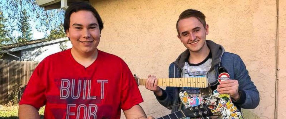 PHOTO: Best friends Chris Betancourt, 20, and Dillon Hill, 19, started the viral Lemons for Leukemia challenge to raise awareness for bone marrow donation.