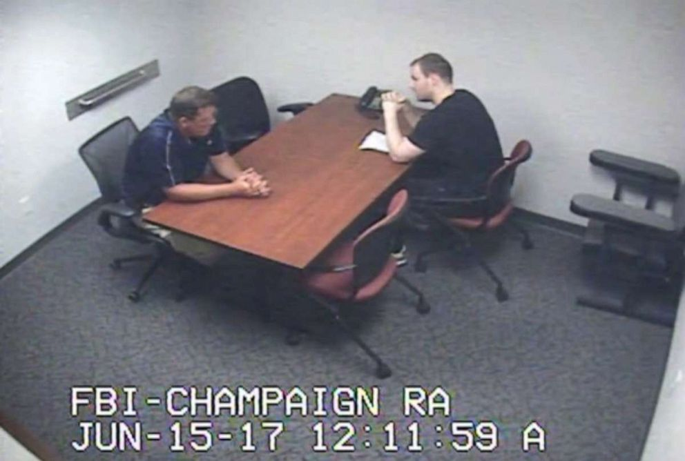 PHOTO: For the first 10 minutes of the 55-minute interview, Christensen told investigators he was sleeping and playing video games on the day of Zhang's disappearance.