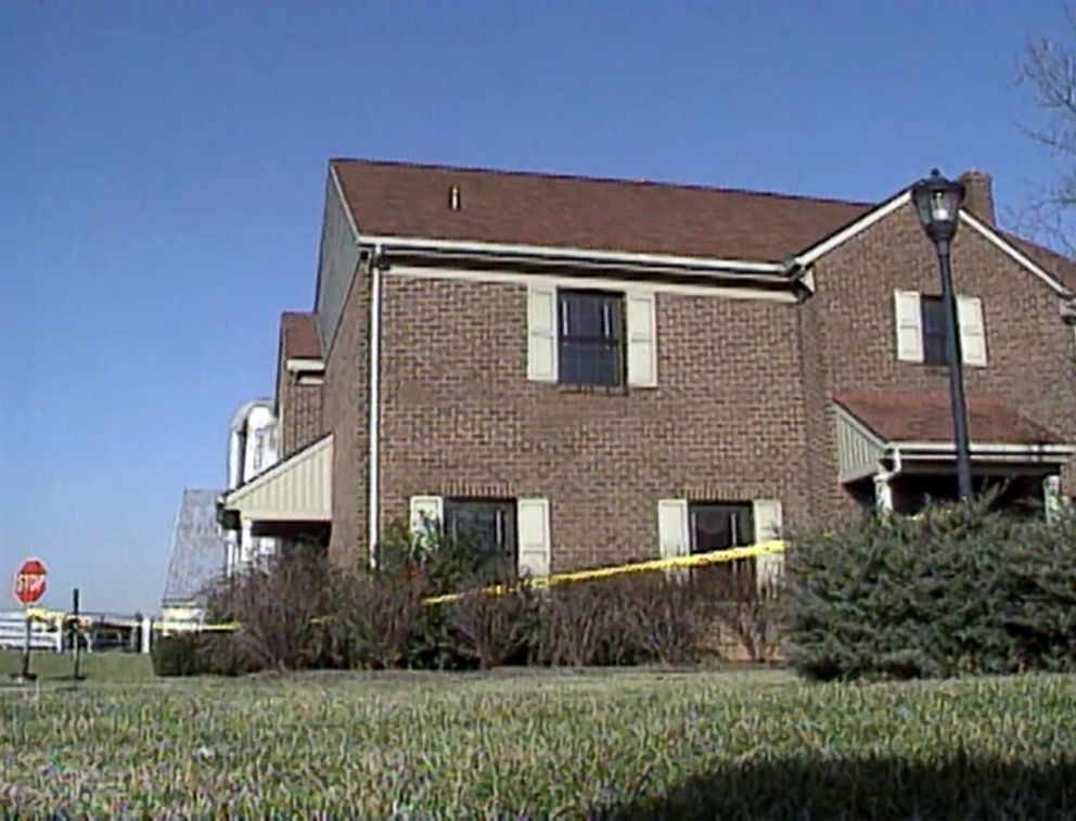 The East Lampeter Township, Pa., home of Christy Mirack, who was murdered inside it in 1992, is seen in an image made from file video.