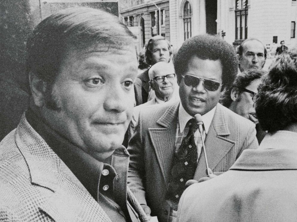PHOTO: Charles Chuckie OBrien, left, appeared before a federal grand jury investigating the disappearance of Jimmy Hoffa in 1975.