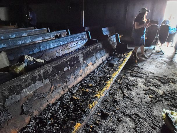 2 fires break out at church, arson investigators searching for clues