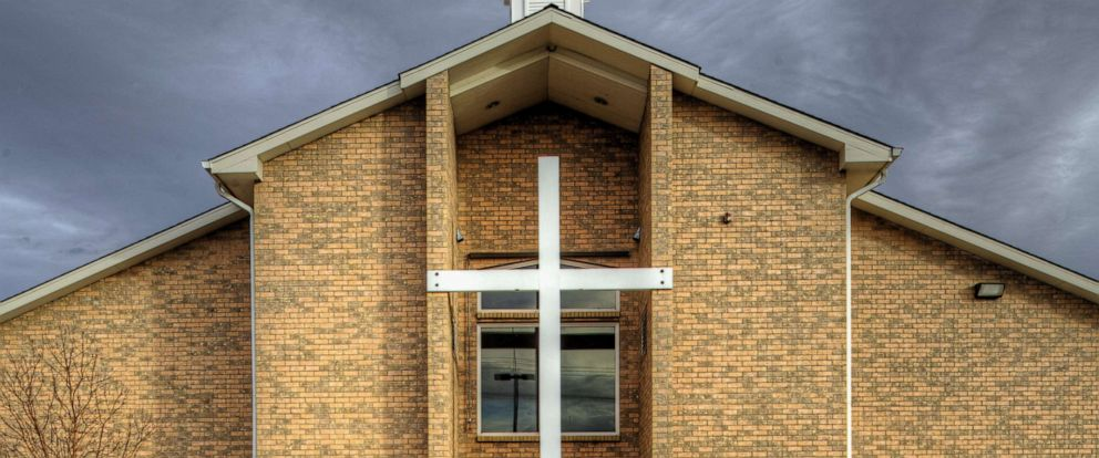 PHOTO: A cross is pictured on a church in an undated stock photo.