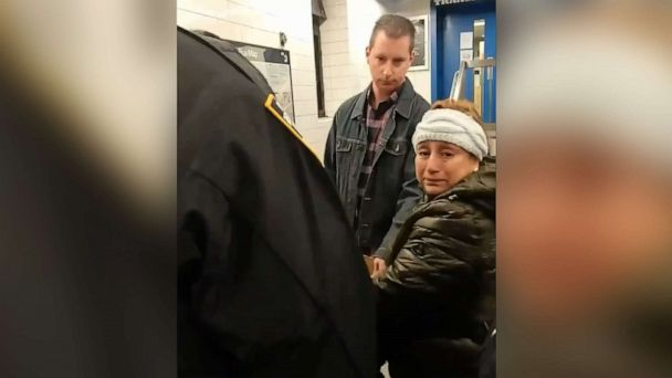 Woman selling churros at NYC subway station handcuffed by officers, video shows