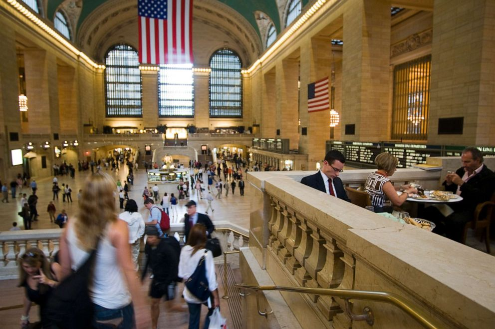 PHOTO: Cipriani Dolci in Grand Central Terminal located on the grand staircase in the lobby of Grand Central Station.