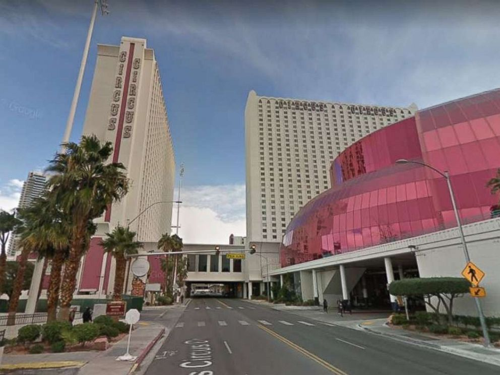 Two people were killed in a stabbing at Circus Circus Las Vegas hotel and casino on Friday, June 1, 2018.  2 stabbed to death at Circus Circus casino in Las Vegas circus circus stabbing pd mo 20180602 hpMain 4x3 992