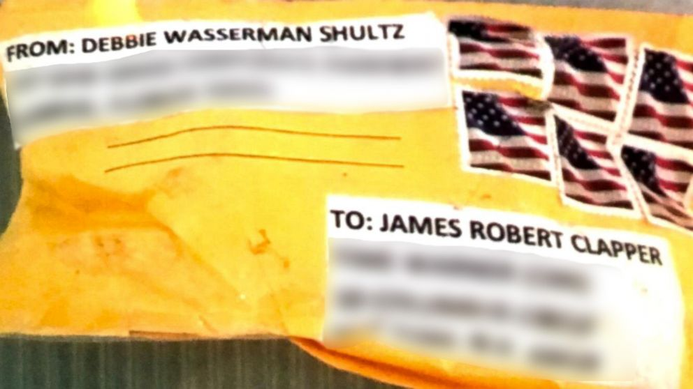 PHOTO: The package sent to former Director of National Intelligence James Clapper and discovered on Oct. 25, 2018 in New York City.