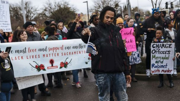 Stephon Clark protests result in more than 80 arrests in Sacramento