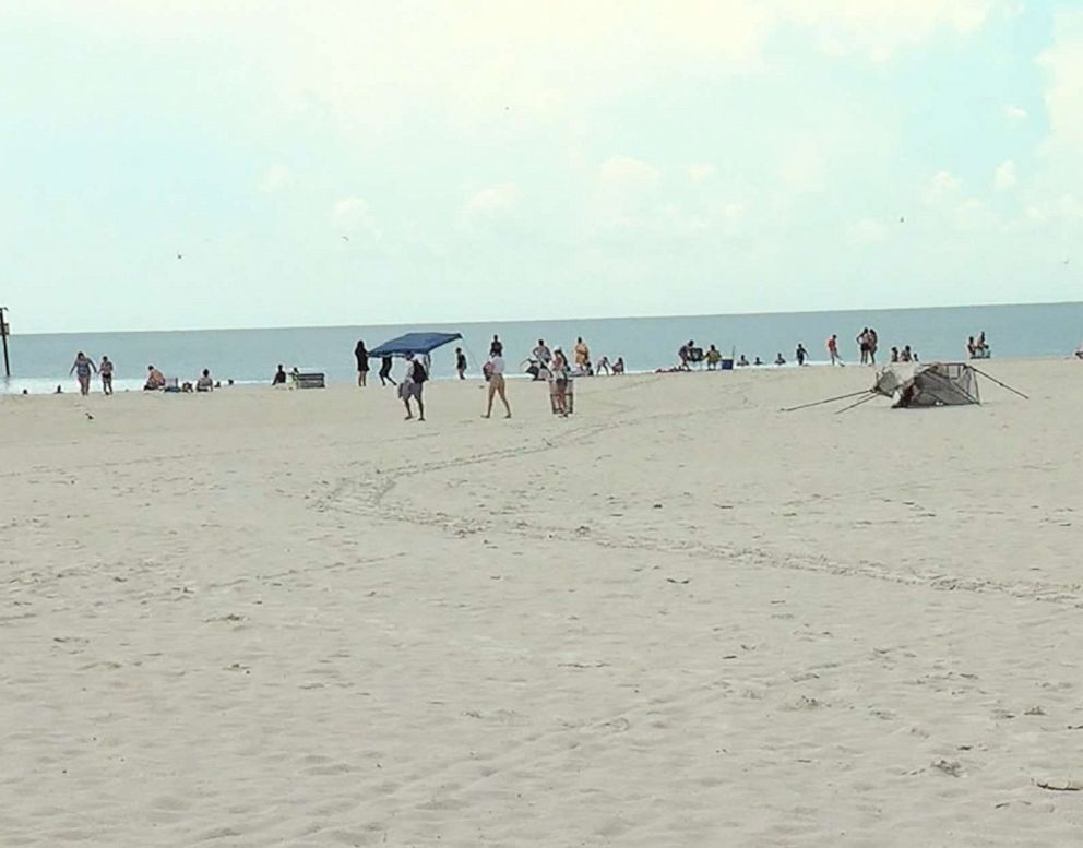 PHOTO: Clearwater Beach, Fla., is pictured in this image made from video on July 21, 2019.