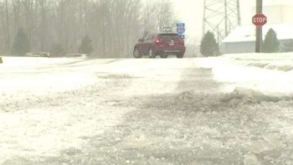Lake Effect Snow Fell In Ohio And New York On Sa Ay