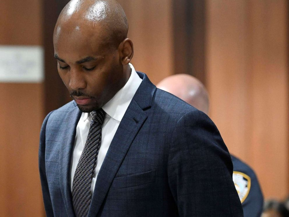 Jamill Jones was arraigned on Thursday in New York.