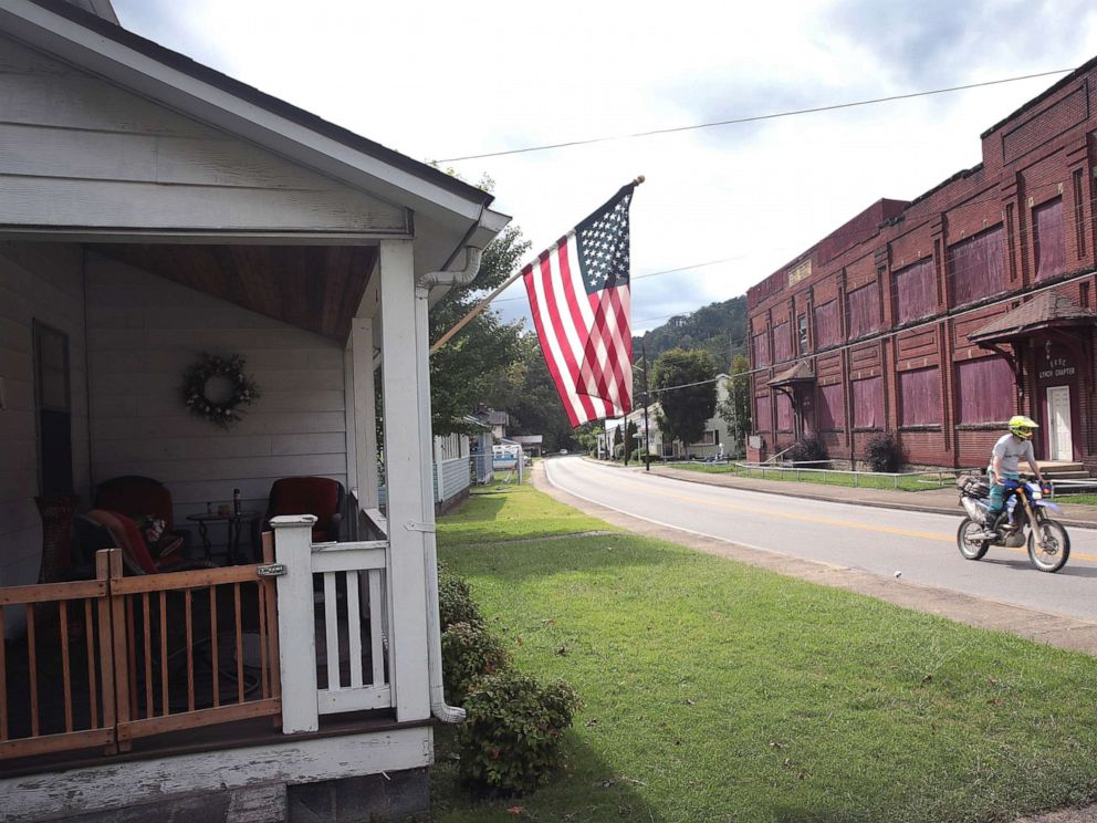 PHOTO: A home built by U.S. Steel to house the companys coal miners, Aug. 25, 2019, in Lynch, Kentucky.