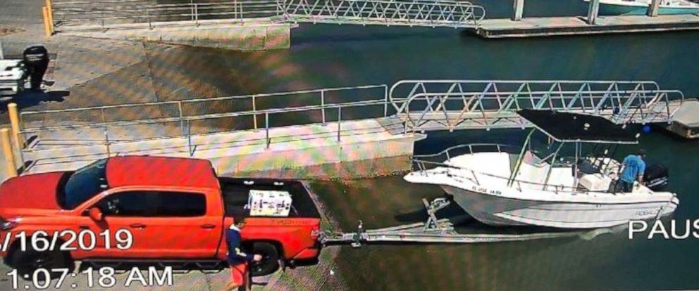 PHOTO: The Coast Guard along with partner agencies are searching for two overdue boaters after they did not return from a fishing trip near Port Canaveral, Fla., Aug. 17, 2019.