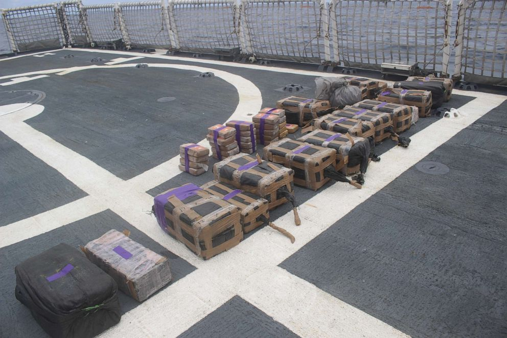 Coast Guard crew intercepts sub carrying $165M worth of cocaine