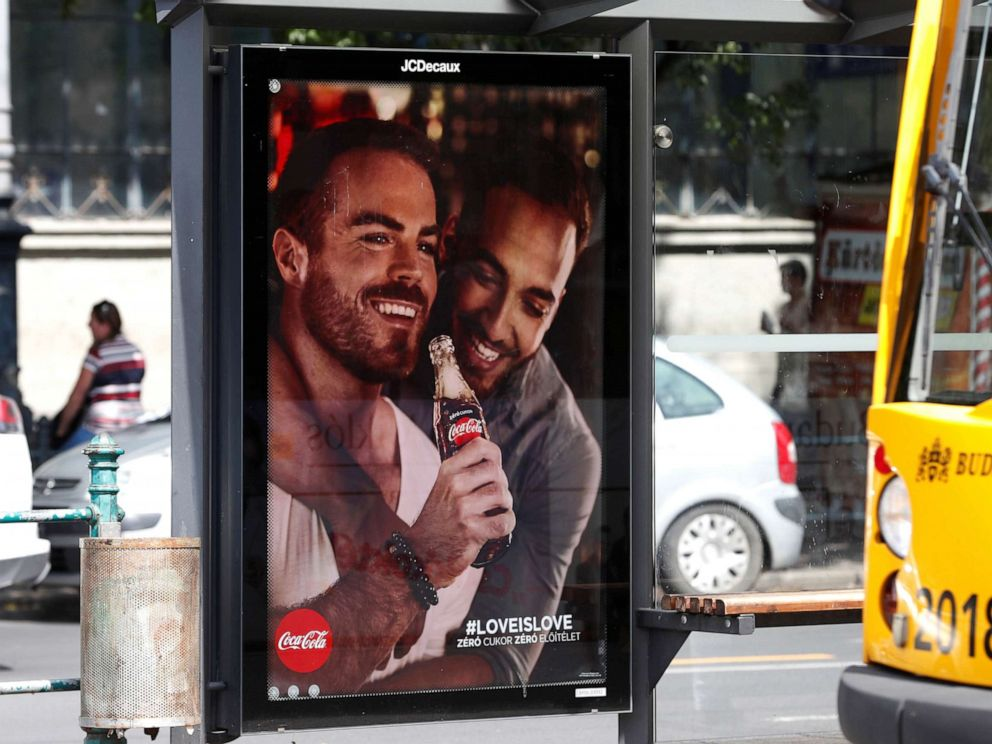 Coca-Cola advertisements featuring gay couples create stir in