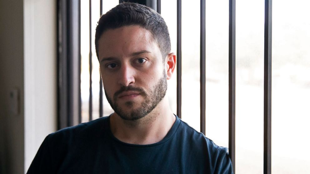 Cody Wilson poses for a portrait in the Defense Distributed office in Austin, Texas, Aug. 7, 2018.
