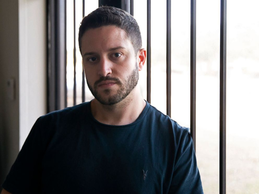 PHOTO: Cody Wilson poses for a portrait in the Defense Distributed office in Austin, Texas, Aug. 7, 2018.