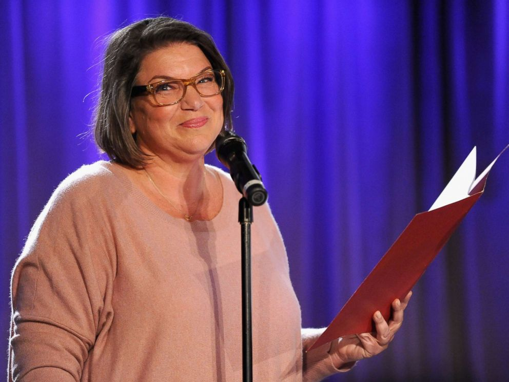 PHOTO:Mindy Cohn during Celebrity Autobiography: The Music Edition Volume 4 at The GRAMMY Museum, April 16, 2014, in Los Angeles.