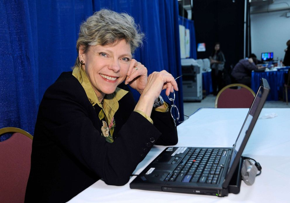 PHOTO: ABC News Cokie Roberts at work during the 2012 Presidential Race in Manchester, New Hampshire, Jan. 9, 2012.