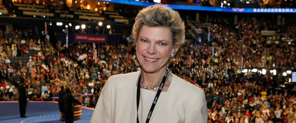 PHOTO: Cokie Roberts covering the 2012 Democratic National Convention in Charlotte, N.C.