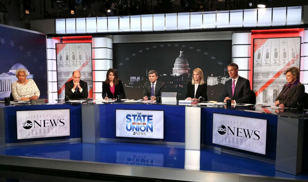 PHOTO: ABC News covers of President Trumps State Of The Union Address, from Washington, D.C., Feb. 5, 2019.