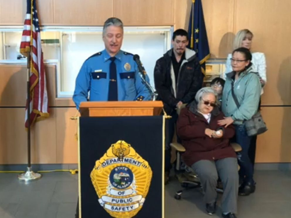 PHOTO: Col. Barry Wilson of the Alaska State Troopers speaks at a press conference to announce an arrest in the 1993 cold case murder of 20-year-old Sophie Sergie, Feb. 15, 2019.
