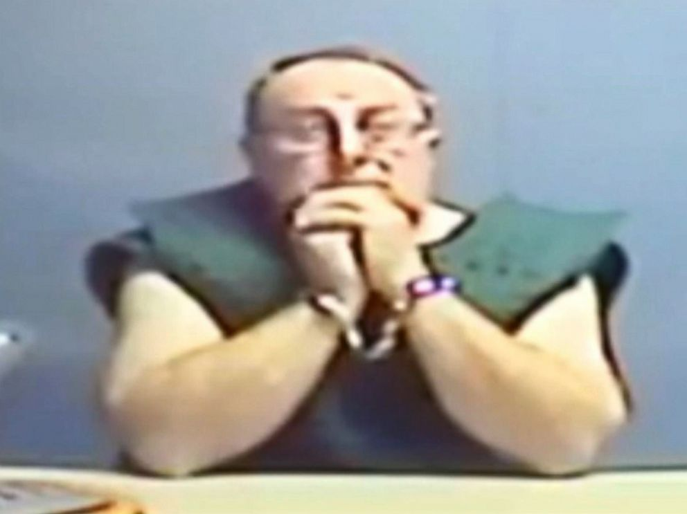 PHOTO: Jerry Lynn Burns, the suspect in the 1979 murder of Michelle Martinko, makes a court appearance via video in Linn County, Iowa, Dec. 20, 2018.